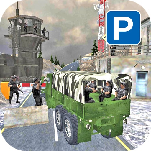 USA Army Truck Parking : OffRoad Driving Challenge