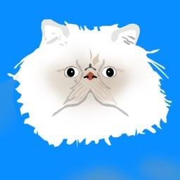 PersianCatMoji - Persian Cat Stickers & Emoji