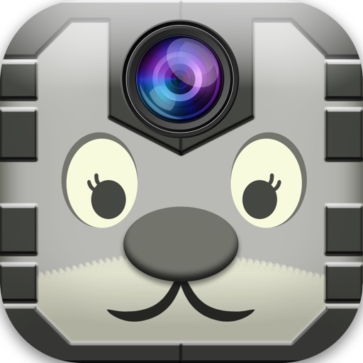 Sticker Camera on Zoo Captain Superhero Style iOS App