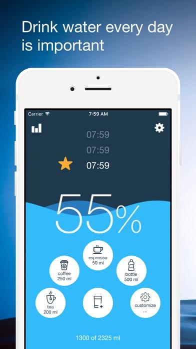 Drink Water Reminder App Apple Watch