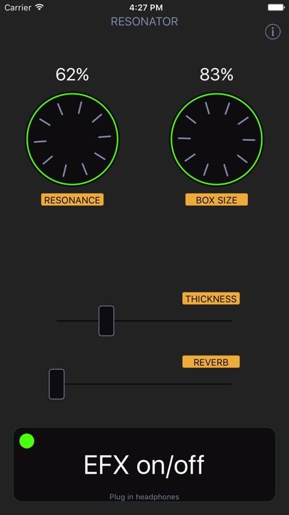 Resonator Audio Unit screenshot-3