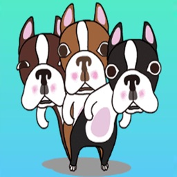 Terrier Animated Stickers