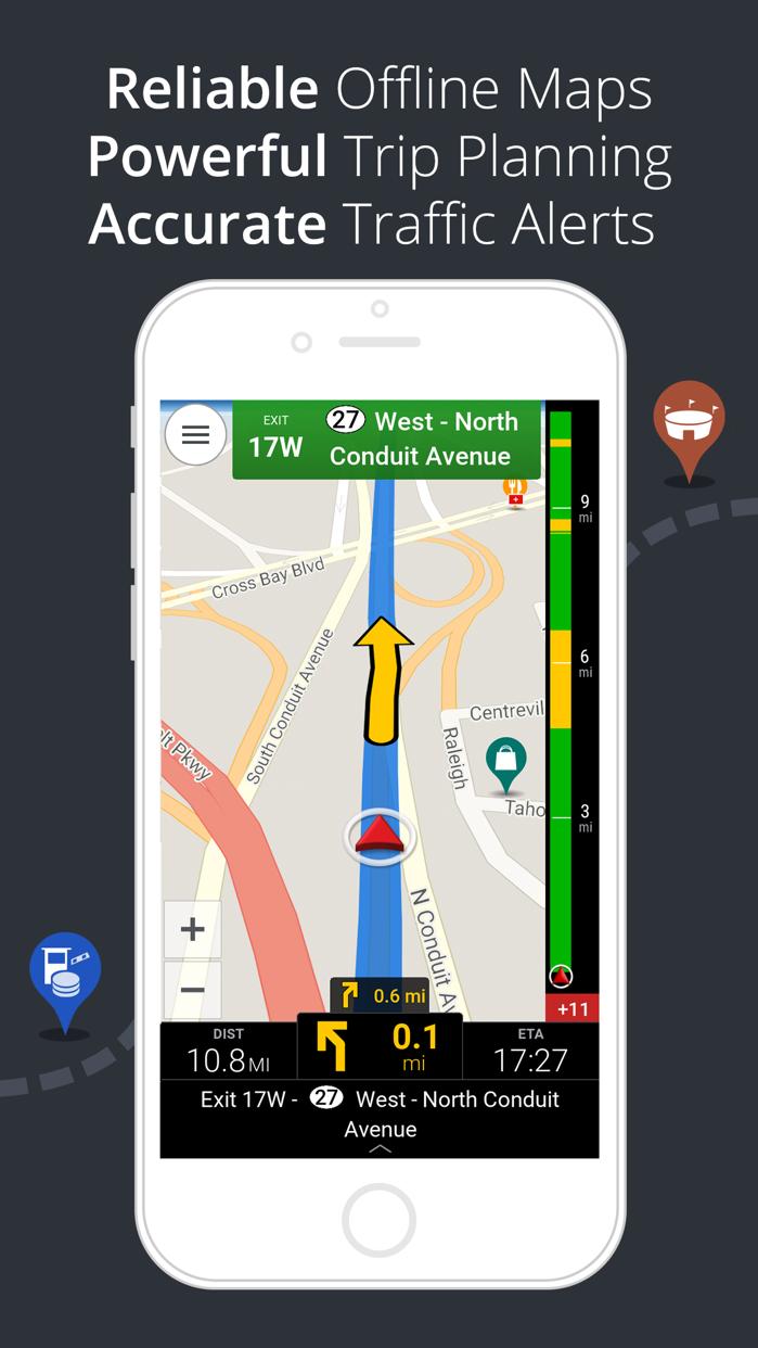 CoPilot GPS – Car Navigation Screenshot