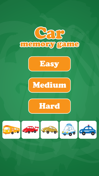 Car Cards Matching Educational Games for Kids