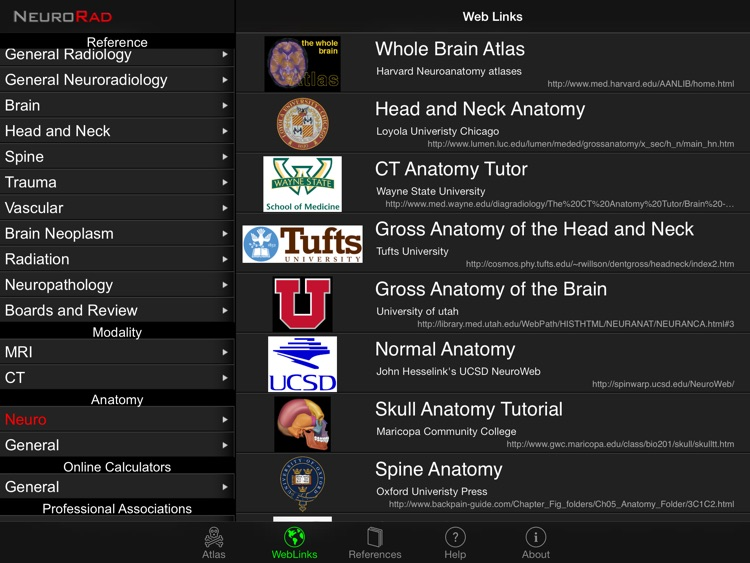 NeuroRad screenshot-2