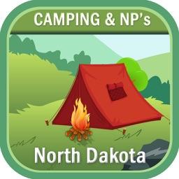 North Dakota Camping & Hiking Trails