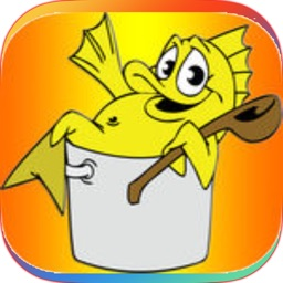 Aquatic Animals Coloring Book-fish game