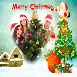 Merry Christmas photo frames - create cards