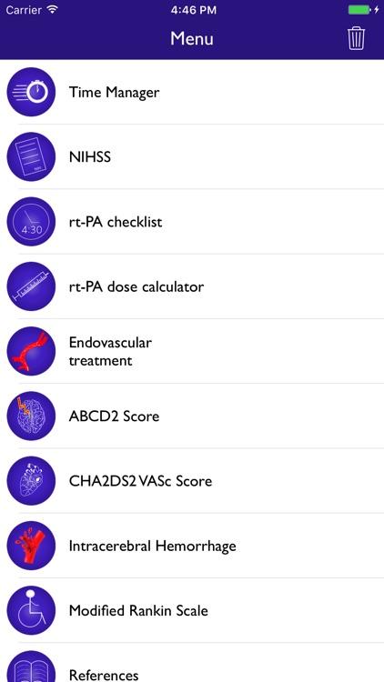 NIH Score & stroke tools screenshot-0