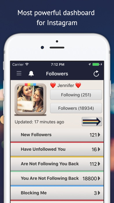 Followers Track for Instagram! for Windows