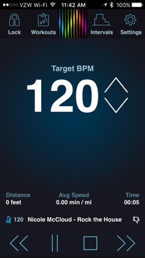 pacedj bpm running music on the app store