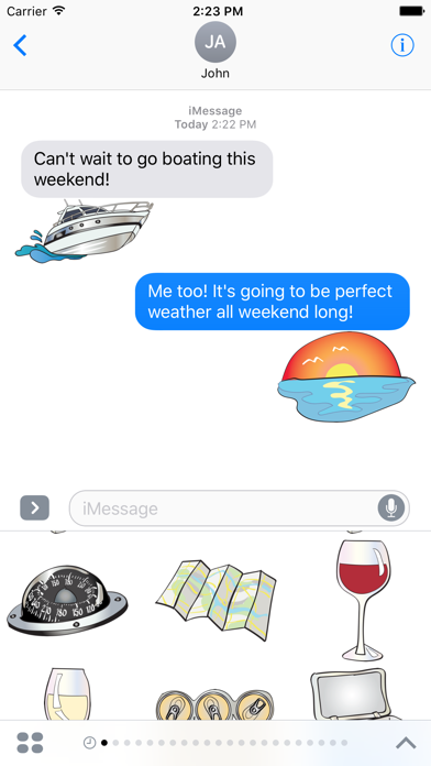 Boat and Sailing Stickers