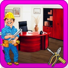 Activities of Renovate the Office- Kids cleanup & Builder game
