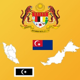 Malaysia State Maps and Flags