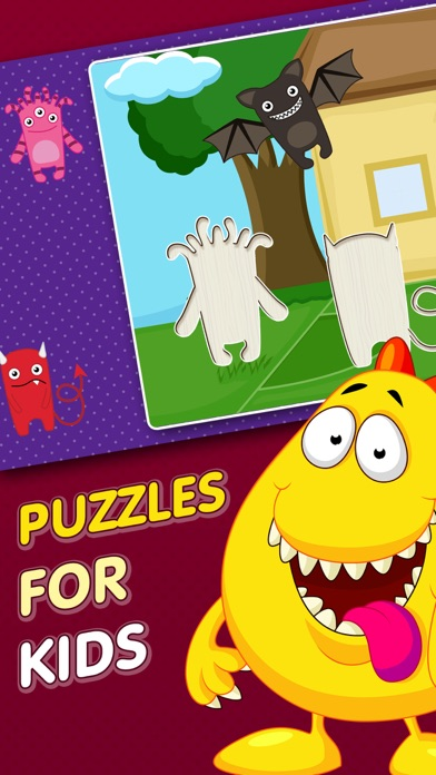 Kids Puzzle Games for Babies, Boys, Girls Learning