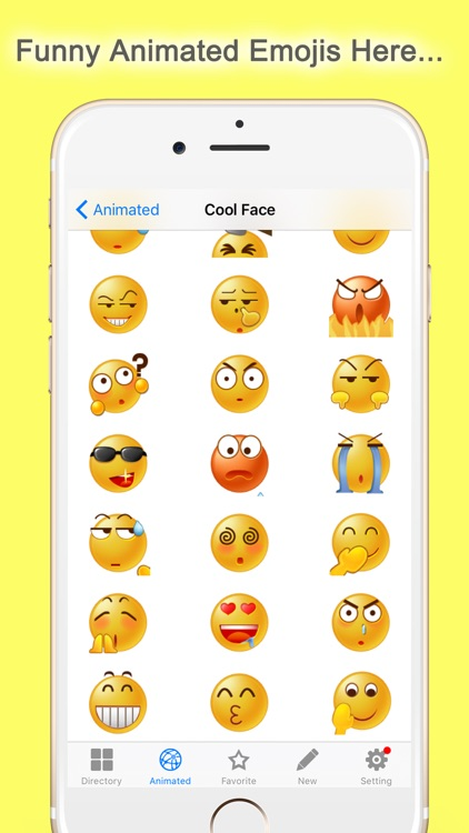 Emoticon.s Free - Animated Emoji Keyboard 3D icons screenshot-3