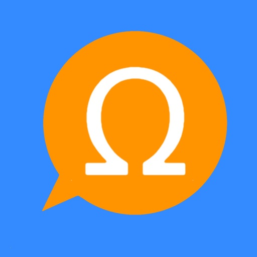 Omegle - Chat for Strangers. Anonymous! app logo