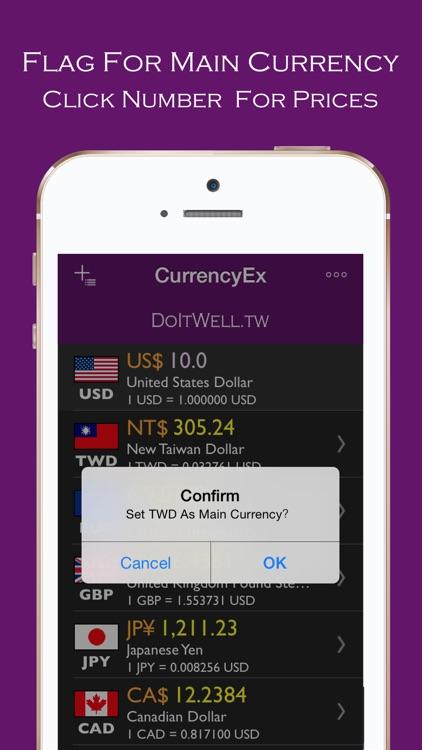 CurrencyEx Convert screenshot-4