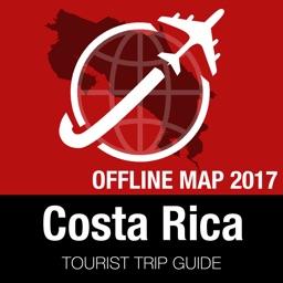 Costa Rica Tourist Guide + Offline Map