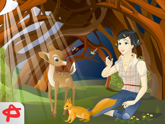 Snow White: Free Interactive Book for Kids screenshot