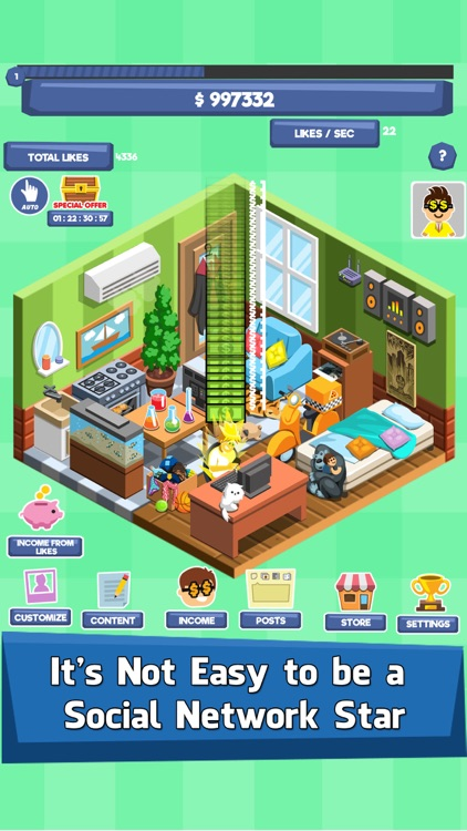 Social Tycoon - Idle Clicker screenshot-0