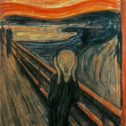 Edvard Munch Paintings for iMessage