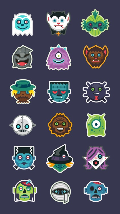 Monster Scout Stickers