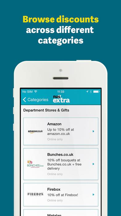 NUS extra – Discount Companion screenshot three
