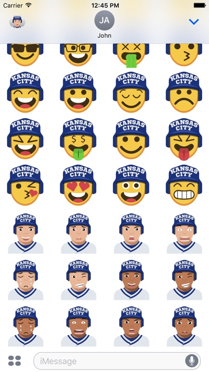 Kansas City Baseball Stickers & Emojis screenshot-4