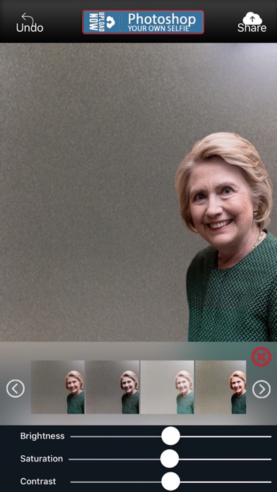 HollywoodSelfie:HillaryClinton screenshot four