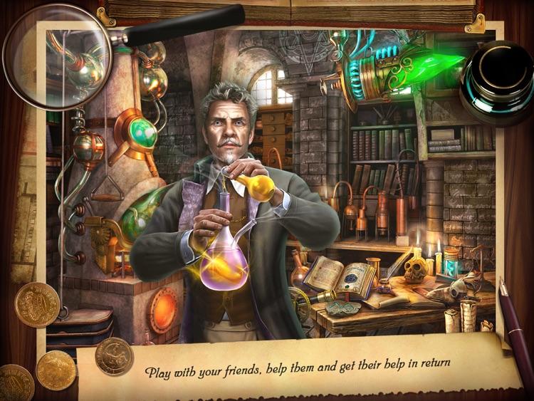 Mystery Manor HD screenshot-3