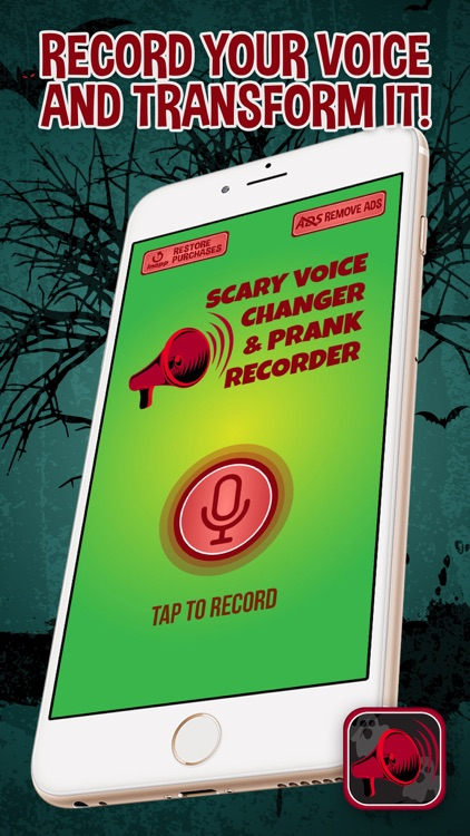 Scary Voice Changer & Prank Recorder screenshot-3