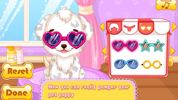 Makeover Games:Puppy Makeover Hair Salon screenshot-3