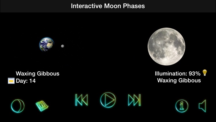 Interactive Moon Phases - Lunar Cycle and Calendar
