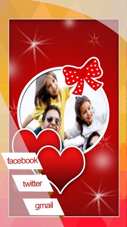Valentine's Day Love Cards - Romantic Photo Frame screenshot-4