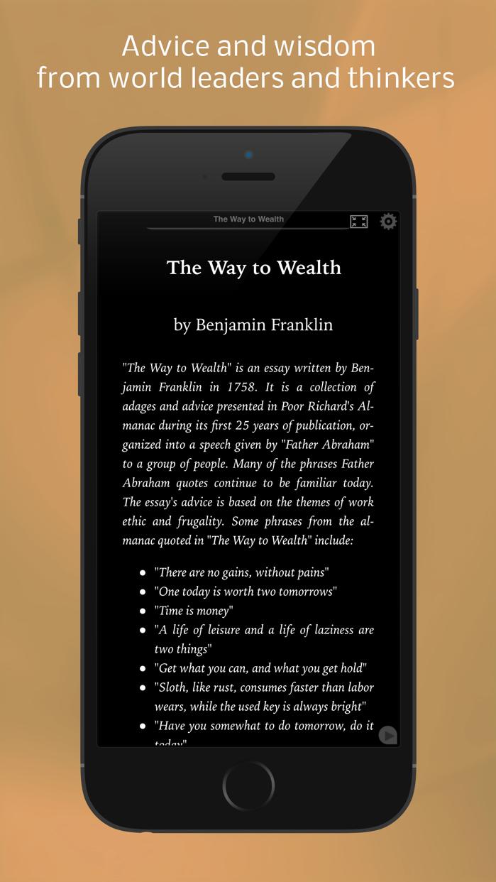 Self Help Classics . Screenshot