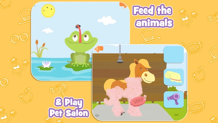Feed The Animals with Alphabet, Tracing & Spelling screenshot-4