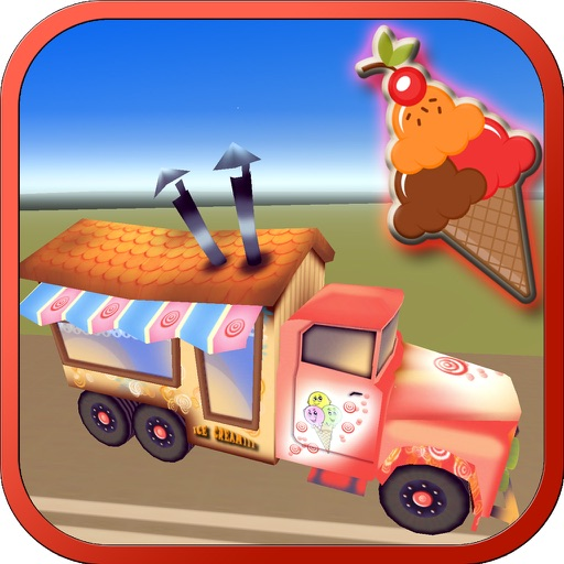 Icecream Delivery Truck Driving : Traffic Racer X app logo