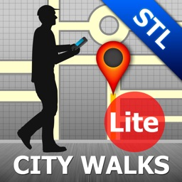Saint Louis Map and Walks