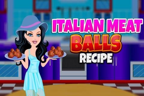 Italian Meat Balls Recipe screenshot 1