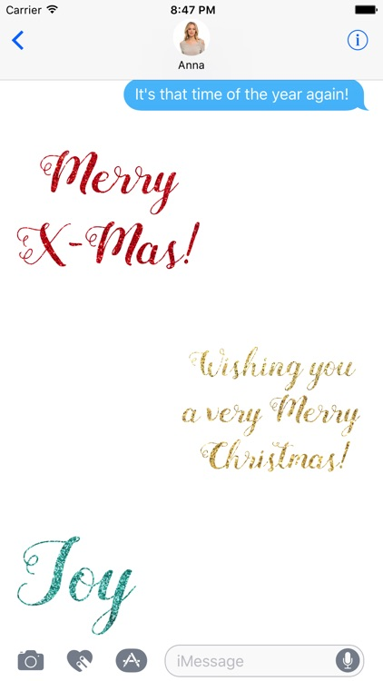 Christmas Glitter - Animated Wishes