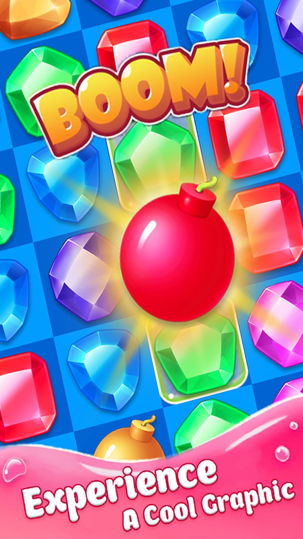 Jewel Blast Legend Delicious Gummy Match 3 Game Cheat Codes