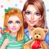 Super Nanny! Baby Care Salon - Babysitter Play Day