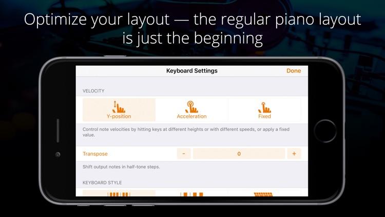 Midiflow Keyboard for Audiobus 3