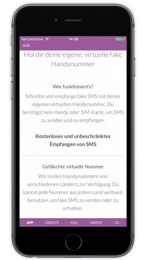 Fake handynummer sms erhalten