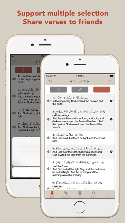 Arabic English Bible - AR-EN Bible screenshot-1
