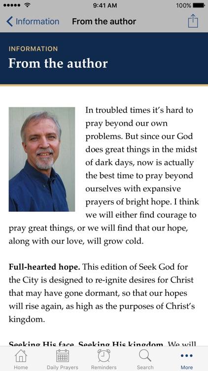 Seek God for the City 2017 screenshot-3