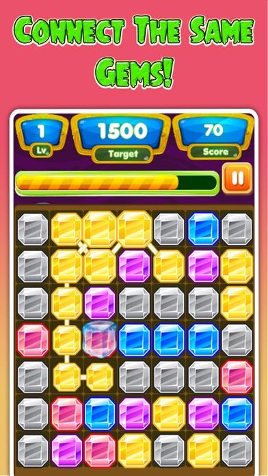 Gems Adventure - Connect Gems Dash Puzzle screenshot three