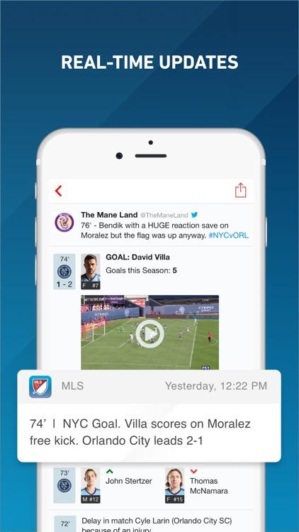 MLS: Scores, News & Highlights screenshot-3