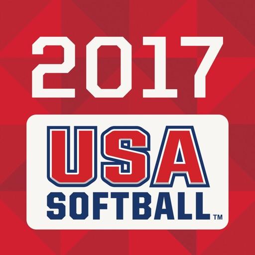 USA Softball 2017 Rulebook app logo